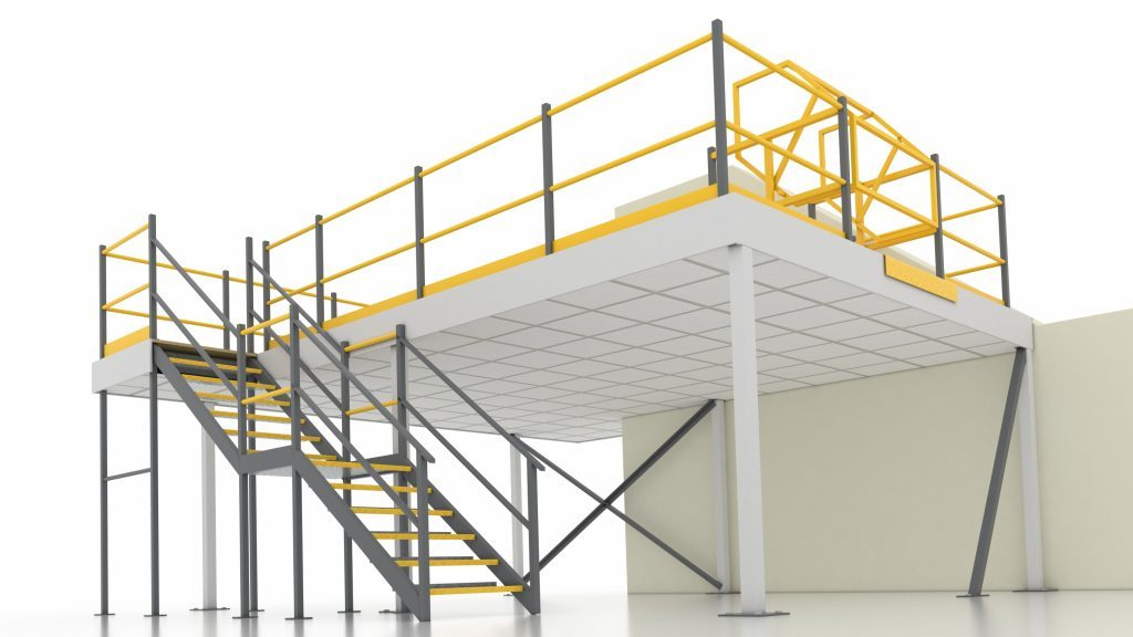 A raised mezzanine floor for every situation and all premieres