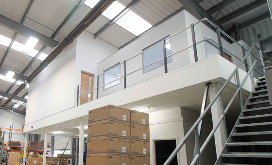 Office mezzanine floor | Retail mezzanine flooring