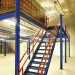 Stairs for mezzanine flooring systems | Industrial mezzanine flooring
