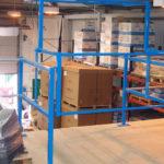 pallet gates for mezzanine floor | mezzanine flooring systems | Industrial mezzanine flooring