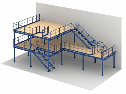 stair_types_for_mezzanine_floors